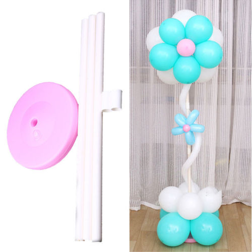 Balloon Arch Frame Column Stand Builder Kits Birthday Wedding Party Decorations