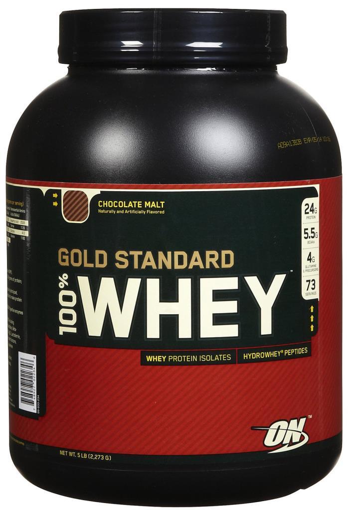 Optimum Nutrition Gold Standard 100 whey 5 lbs