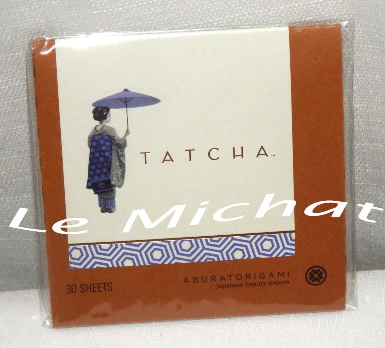 New Tatcha Aburatorigami Japanese Beauty Papers 30 Sheets