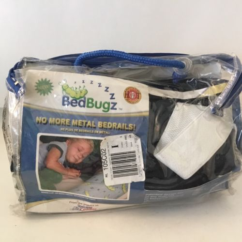One Bed Rail Toddler Bolster Bedbugz Replacement COVER ONLY Blue Jean #8-565