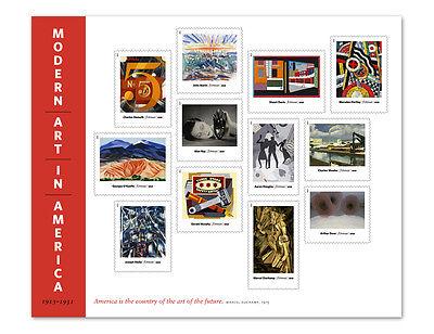 US Scott # 4748 Modern Art in America (FOREVER) Sheet of 12 MNH ***FREE SHIP***