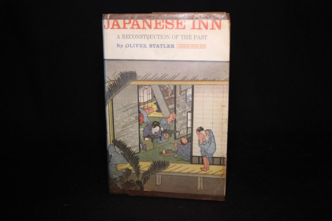 Japanese Inn by Oliver Statler - 1st ED - 1961 - G ( Air Force library book)