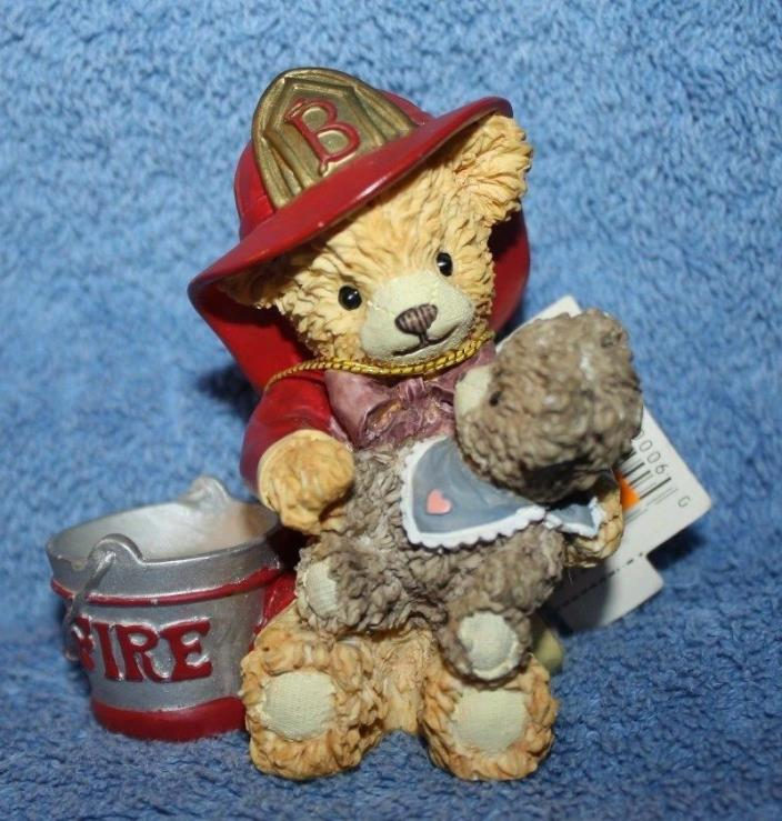 Bainbridge Bears Collection Chester & Benjamin Firefighting Pals RARE