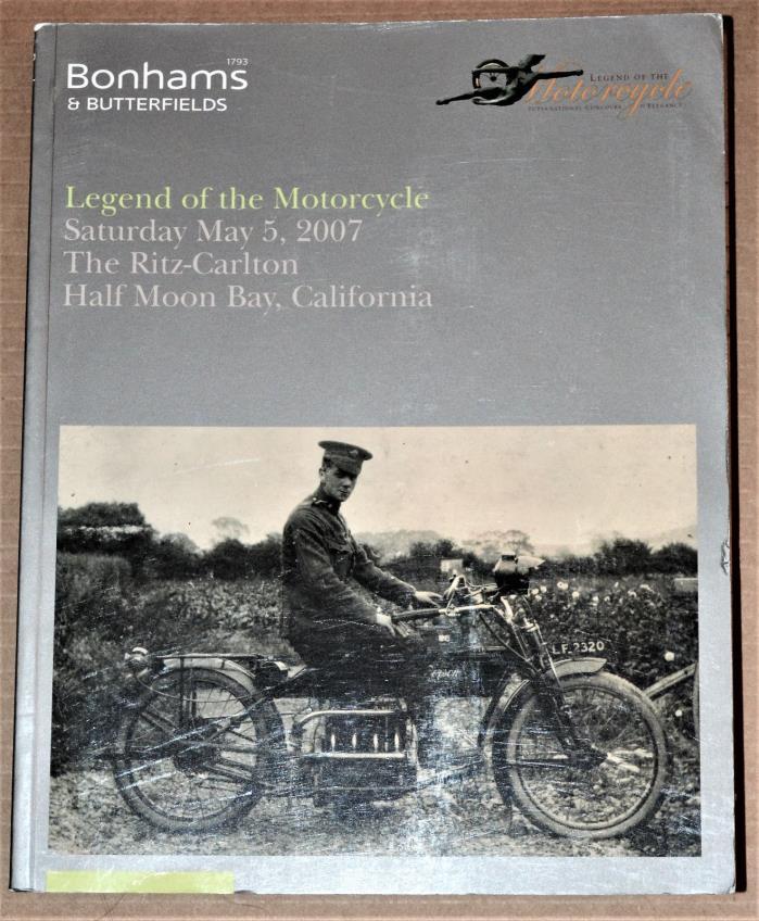 BONHAMS Legend of the Motorcycle – 1914 Henderson 1,068cc