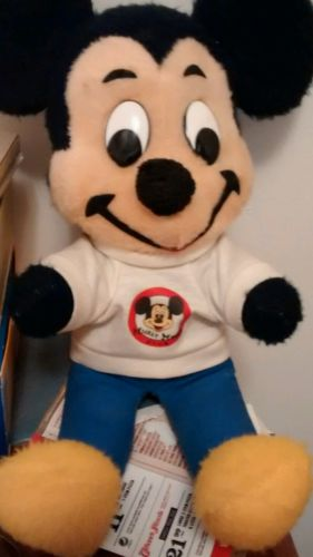 mickey mouse stuffed animal