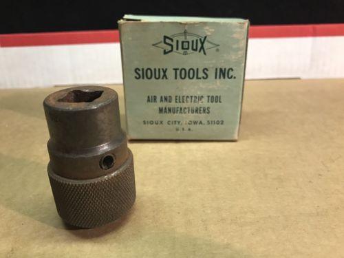 SIoux Tools Inc  Box Vintage Sioux City Iowa NOS Drill Bit Chuck New