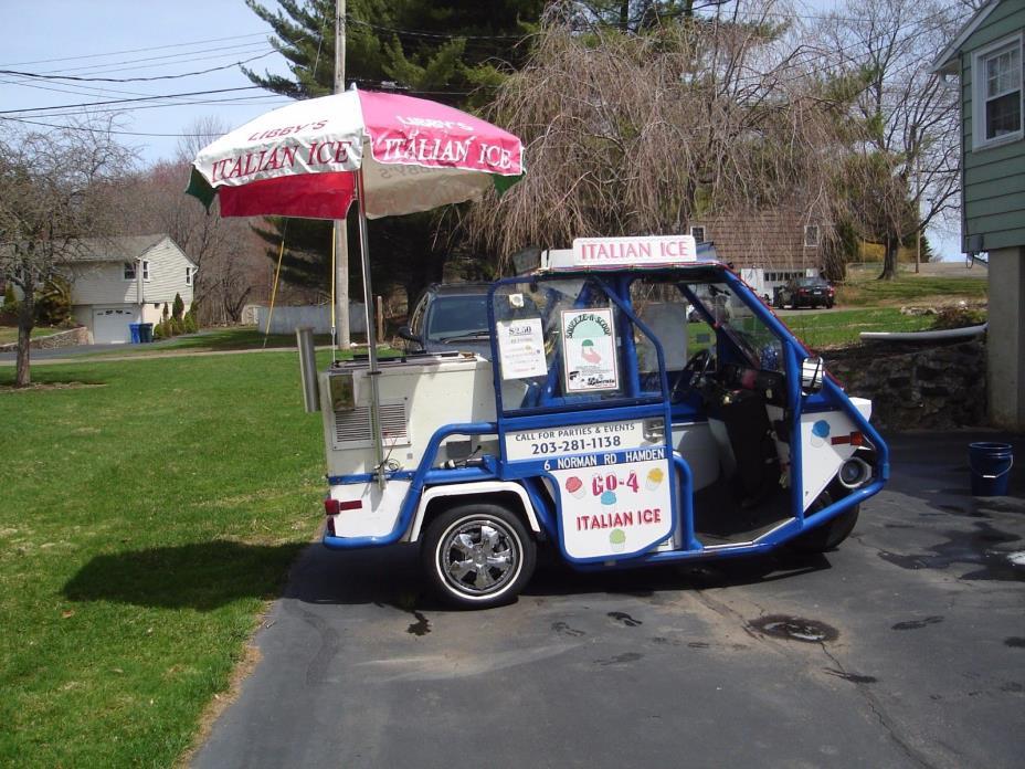 Italian Ice Business Truck