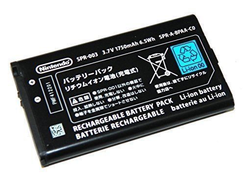 Nintendo 3DS XL Battery Replacement SPR-003 3.7 V 1750mAh 6.5Wh
