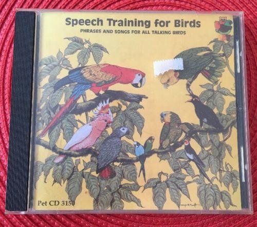 SPEECH TRAINING FOR BIRDS - PET RECORDS - GOOD CONDITION