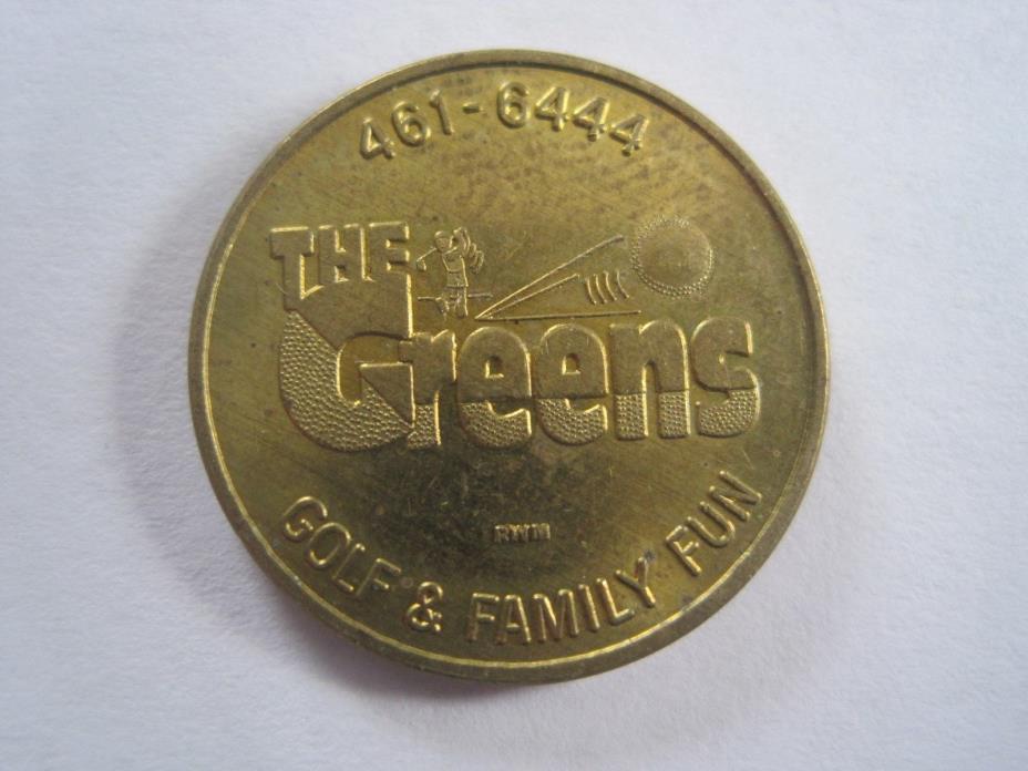 The Greens Golf & Family Fun Token Coin 1104-4
