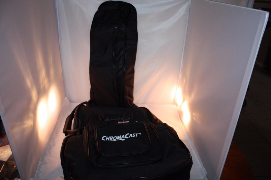 ChromaCast Acoustic Guitar 6-Pocket Padded Gig Bag with Guitar Strap and Pick Sa