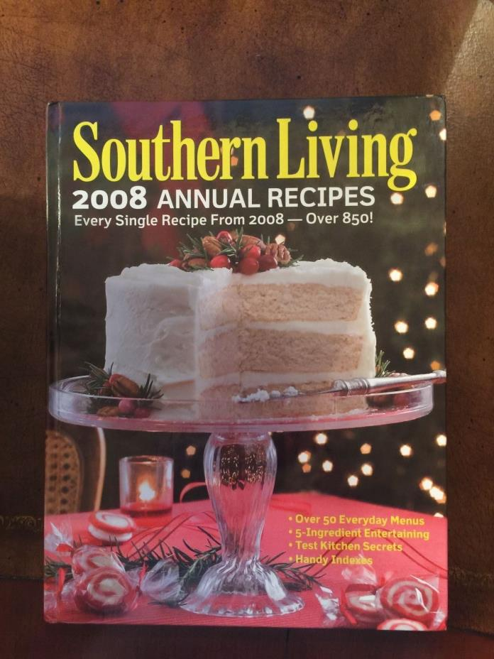 Southern Living 2008 Annual Recipes **Free Shipping**
