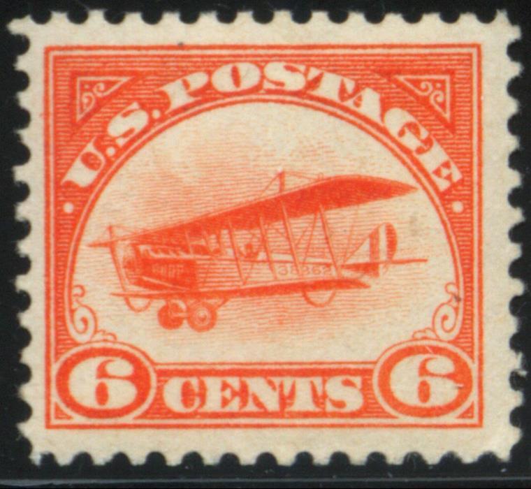 US - Scott #C1 - Mint LH-OG - 1918 Jenny