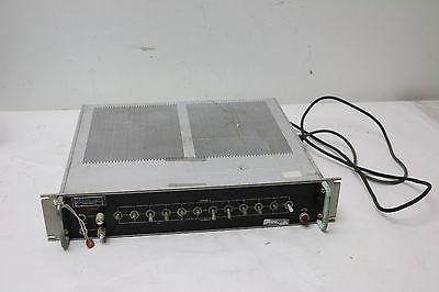 Watkins Johnson CEI Division Type AM-105 Two Channel Audio Monitor
