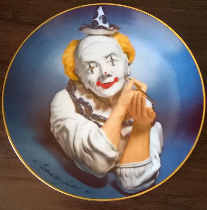 Edward J. Rohn Plate .1981, #329 Clown