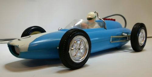 Vintage Marx Race car remote control car