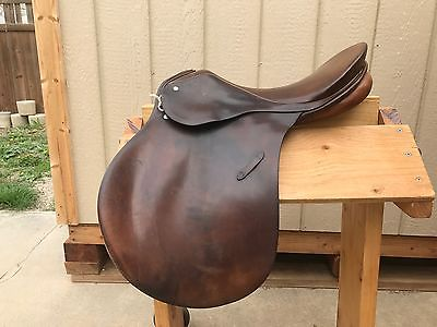 Used Passier PS Baum All Purpose Saddle 16.5 Medium Tree