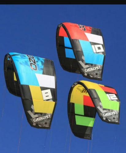 ozone catalyst 10 meter kite kitesurfing 2014 with 50cm bar