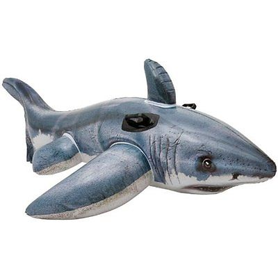 Intex Great White Shark Ride-On, 68