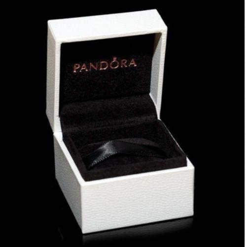 Authentic Pandora Ring / Bead Box New