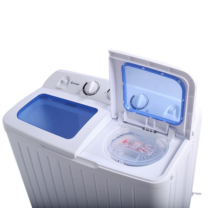 Portable Washing Machine w/Spinner Dryer Mini Compact Twin Tub 11lb NEW!