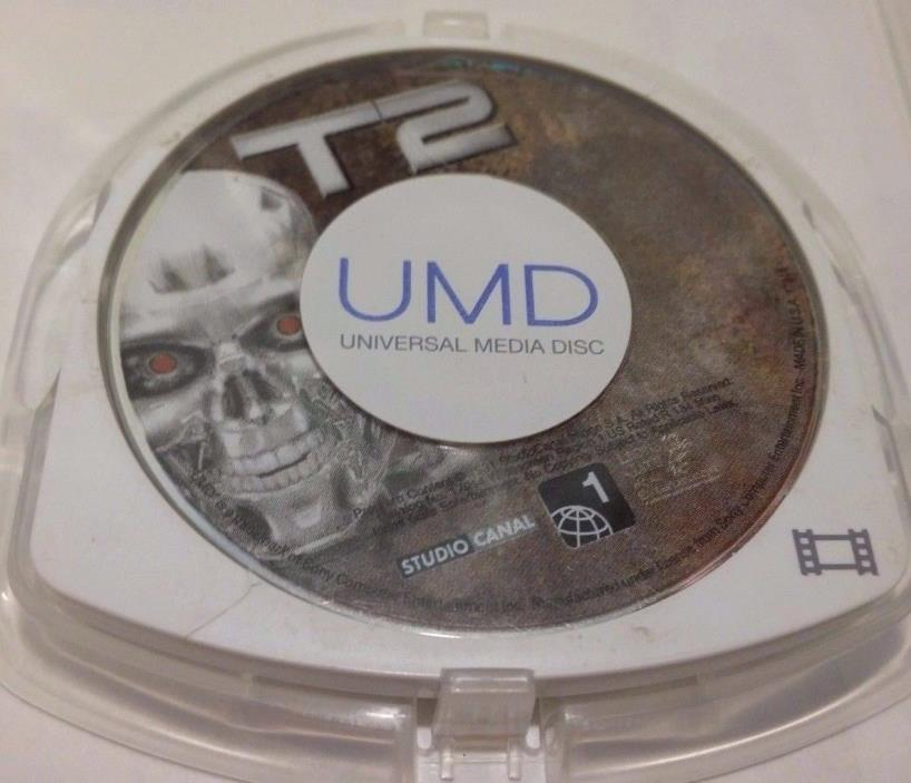 SONY PSP UMD MOVIE T 2 TERMINATOR II JUST DISC NO COVER ART FREE SHIPPING