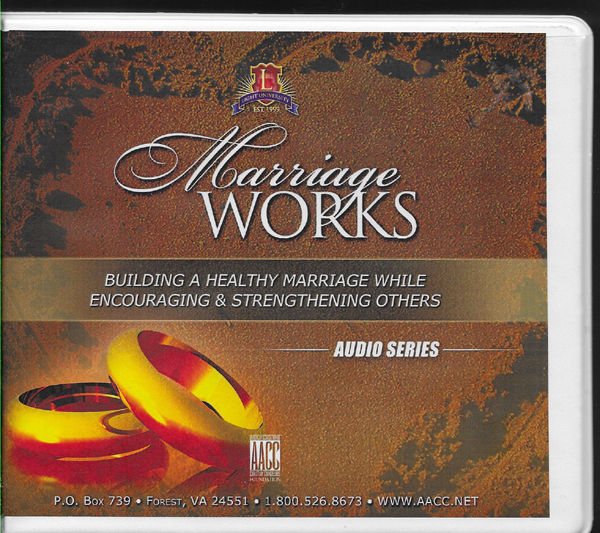 Marriage Works Building A Healthy Christian Marriage 30 Cd Set