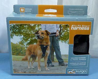 Kurgo Tru-Fit Crash Tested Dog Harness Black A10418