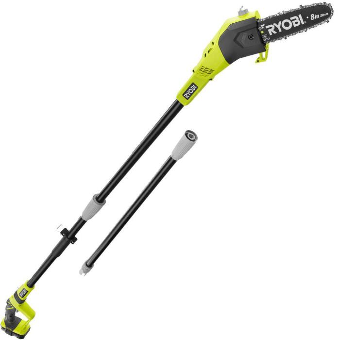 Ryobi 18V One+ Lithium Cordless 9.5' Pole Saw Trimmer BARE TOOL Only P4360A FAST
