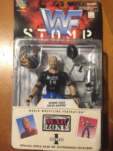 Jakks Pacific WWF Stone Cold Steve Austin