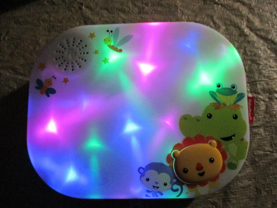2014 Mattel Fisher Price Crib Soother - Music, Nature & Light Show