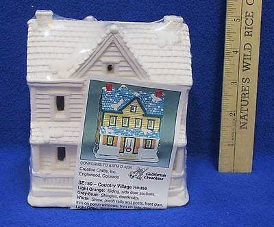 Country Village House Ready To Paint California Creations Creative Craft Plaster