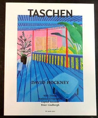 Tashen David Hockney Sumo Book Catalog