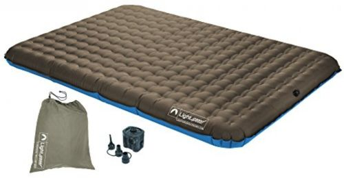 Lightspeed Outdoors 2person PVC Free Air Bed Mattress for Camping Outdoor Travel