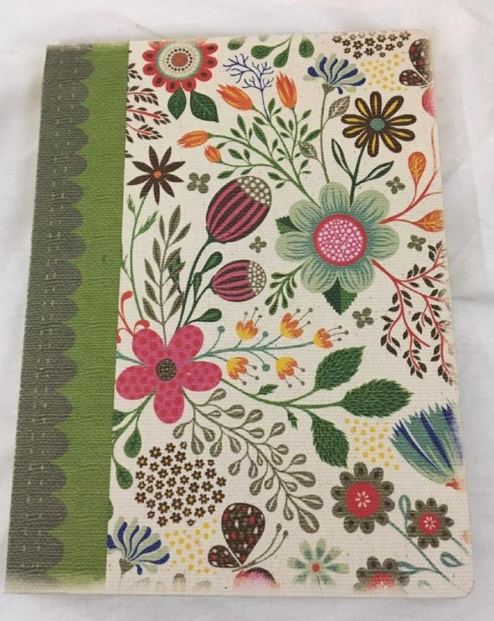 Studio Oh deconstructed journal hardcover blank notebook flowers floral lined pg