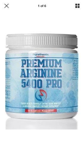 L-Arginine Powder 5400mg  Premium Nitric Oxide Powder  Support... 2-Day Delivery