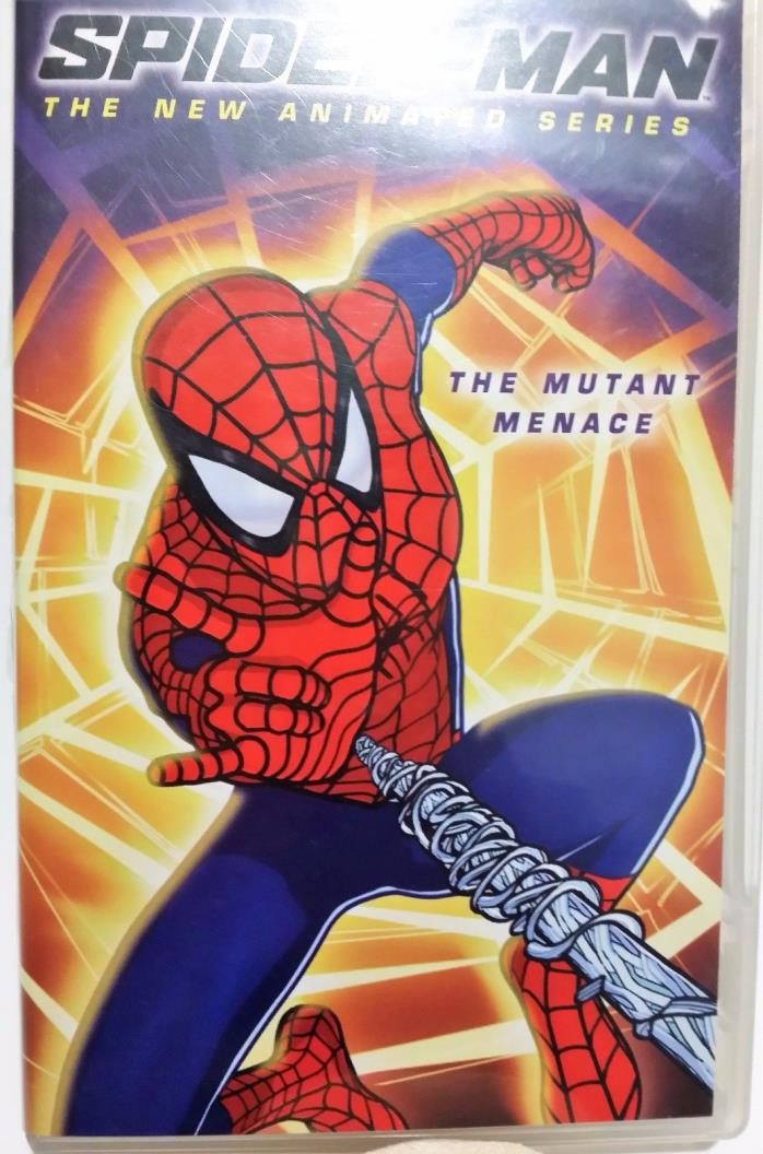 PSP UMD MOVIE SPIDER MAN ANIMATED SERIES ORIGINAL COVER ART & Case Rare Find