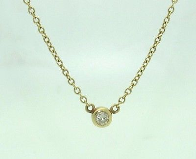 14 KT Yellow Gold Diamond 18