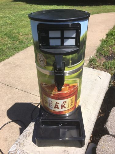 Gold Peak Iced Tea Dispensing Tower NON-carbonated Four 4 flavors Dispenser used