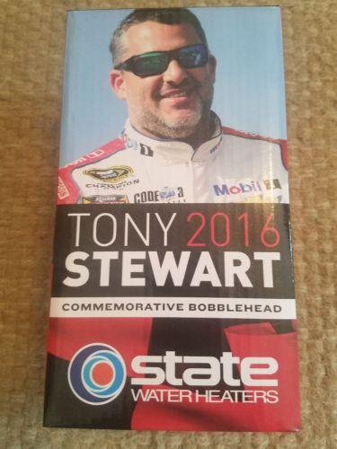 TONY STEWART #14 SMOKE 2016 Retirement BOBBLE HEAD Final TexasMotorSpeedway Race