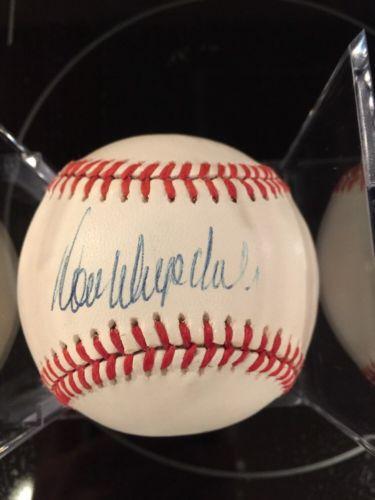 Don Drysdale Signed/Autograph Dodgers Baseball PSA/DNA LOA