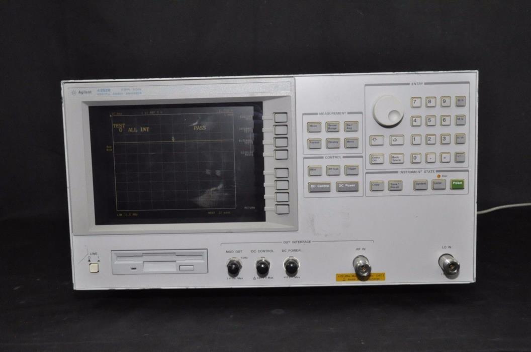 Agilent 4352B VCO/PLL Signal Analyzer 10MHz - 3GHz