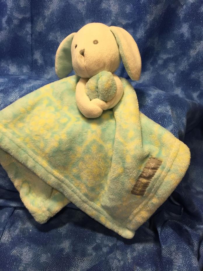 Blankets & Beyond Blue  Bunny Rabbit 12