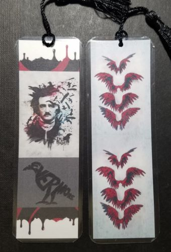 Edgar Allen Poe bookmark The Raven