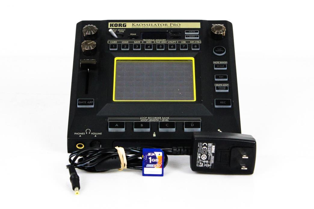 Korg Kaossilator Dynamic Phrase Synthesizer/Loop Recorder Synthesizer U075106