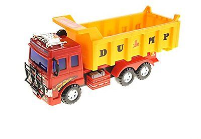 Big Dump Truck Toy For Kids With Friction Power