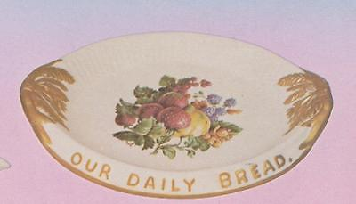 USED CERAMIC MOLD WEAVER #111 BREAD TRAY 11-1/2