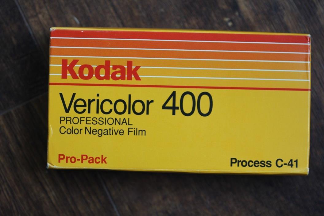 Kodak Vericolor 400 Professional  VPH 120 Film Sealed In Box Free Shipping
