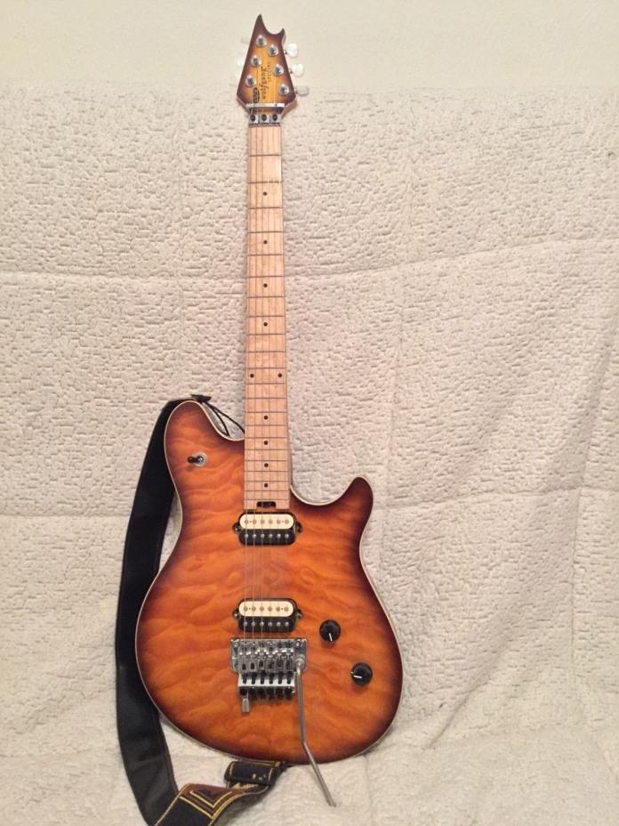 EVH Wolfgang Special Electric Guitar Tobacco Burst, Maple Fretboard  VAN HALEN!