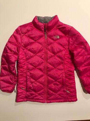 Girls XL (18) North Face Jacket, Hot Pink